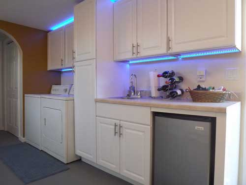 Led light strips behind tv cool kitchen cabinet bedroom tv living best led light strip uses in kitchen u laundry image click if you would like to with led light strips behind tv aloadofball Image collections