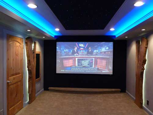 LED Light Strip Uses In Media Room Image Click If You Would Like To See